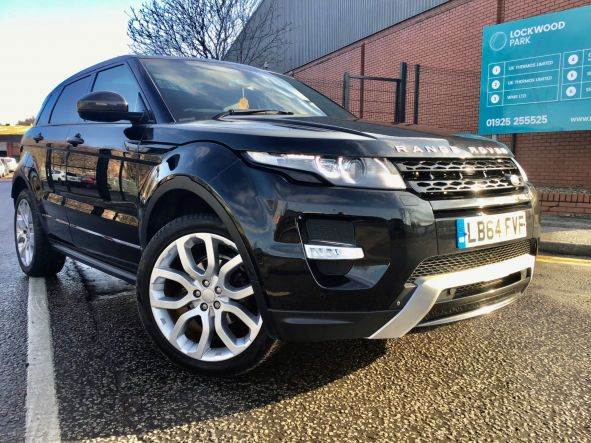 Used LAND ROVER RANGE ROVER EVOQUE in Leeds, Yorkshire for sale